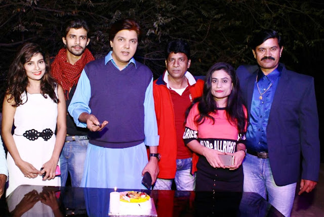 Actor Neeraj Bharadwaj Triple Celebration on New Year's Eve