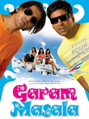 Watch Online Bollywood Movie Garam Masala 2005 300MB DVDRip 480P Full Hindi Film Free Download At WorldFree4u.Com