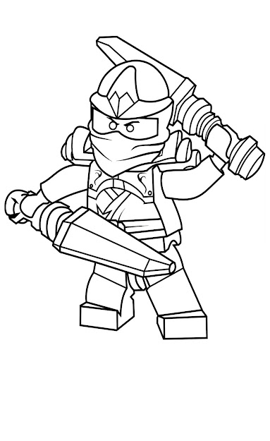 Ninjago Coloring Pages Free Printable