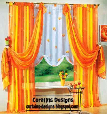 Contemporary curtain designs for children room, babies, girls