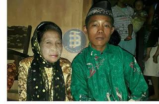 فتى بعمر 16 يتزوج من إمرأة بعمر 71 في اندونيسيا!