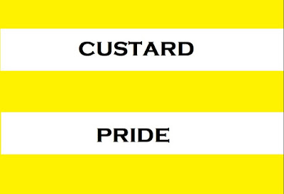 Custard pride flag