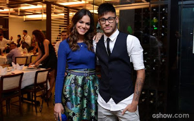 Neymar e Bruna juntos em um jatinho, será?