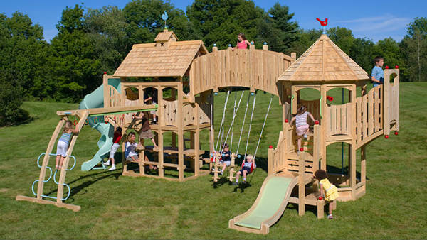 Wooden Swing Sets - Champcraft Playsets: Let Your Kids ...
