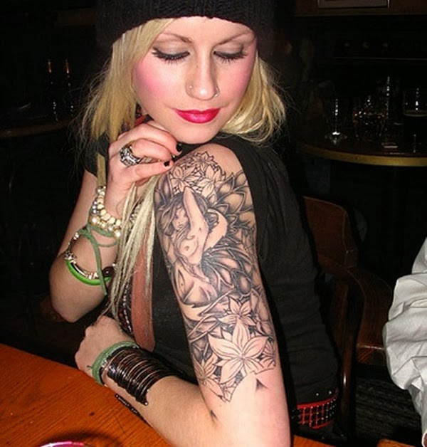 Arm Tattoos For Girls 2015