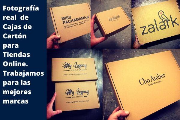 fabricamos cajas de cartón para tiendas online
