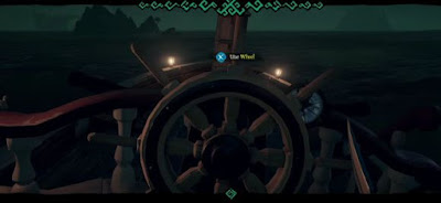 Start Sailing, Ship Wheel, Sea of Thieves