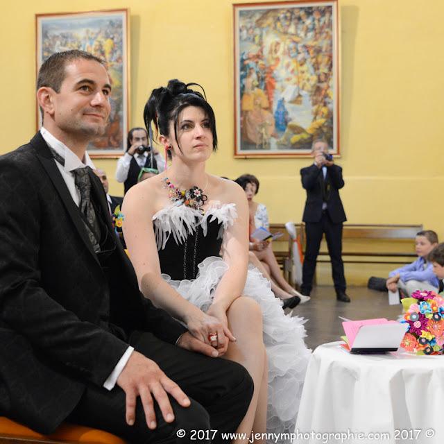 reportage photo mariage cérémonie religieuse portrait des mariés