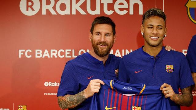 Neymar Menjelaskan Soal Persaingan Top Skorer dengan Messi