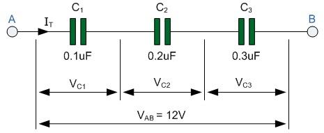 Capacitores En Serie Y Serie Circuitos De Condensadores