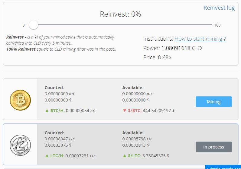 500 ghs bitcoin mineur profit