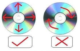 Cara Membersihkan Keping CD, DVD