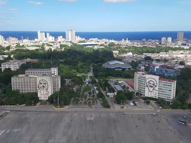 Plaza de la Revolución vista do Memorial José Martí - Havana - Cuba