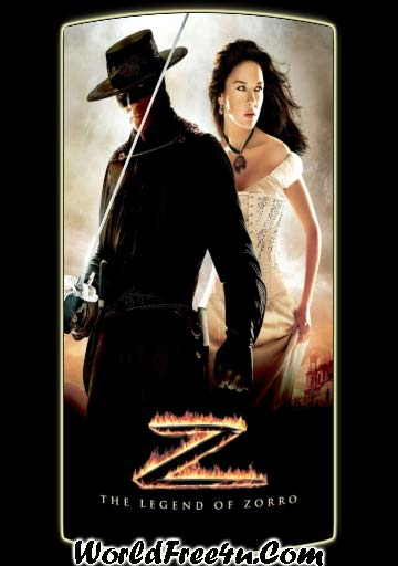 Poster Of The Legend of Zorro In Dual Audio Hindi English 300MB Compressed Small Size Pc Movie Free Download Only At worldfree4u.com