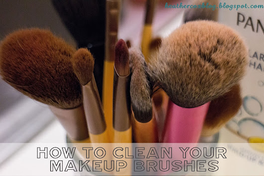Makeup Tuesday :: How To Clean Your Makeup Brushes