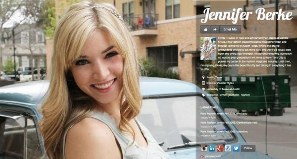 Crear perfil profesional online