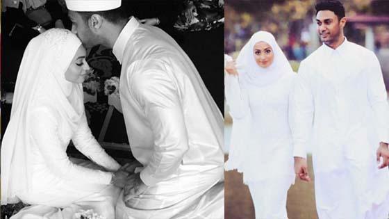 Gambar Nikah Ammar Alfian dan Nelissa Nezam