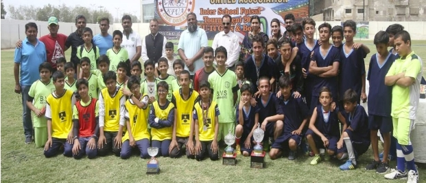 Sports News: Football -Aga Khan School teams dominate Inter School Futsal Tourney