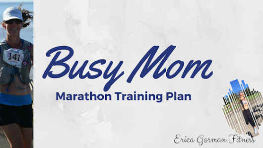 Busy Mom Marathon Training Program