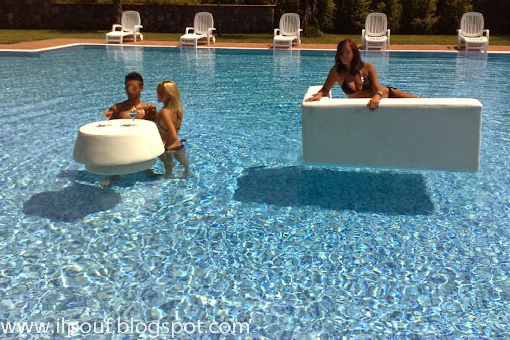 Il pouf arredamento per discoteche e locali for Arredo piscina