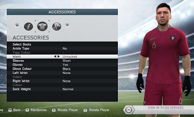 FIFA 14 Faces Rúben Dias by Lagwagon93