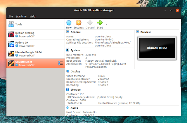 VirtualBox 6.0