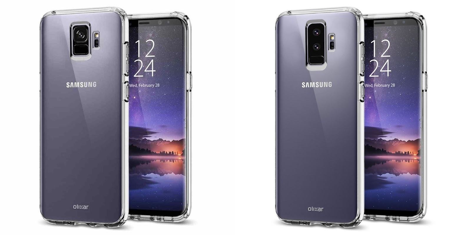 samsung galaxy s9 and galaxy s9 case renders reveals more kickedface. Black Bedroom Furniture Sets. Home Design Ideas