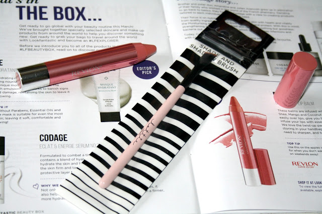 Look Fantastic's March Beauty Box #LFEXPLORER Edition