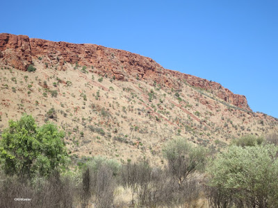 Hills around Alice Springs