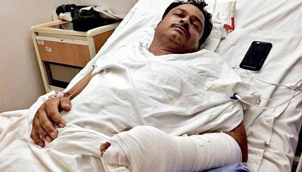 Héroe Mexicano pierde sus dedos tras rescatar varias víctimas del Terremoto