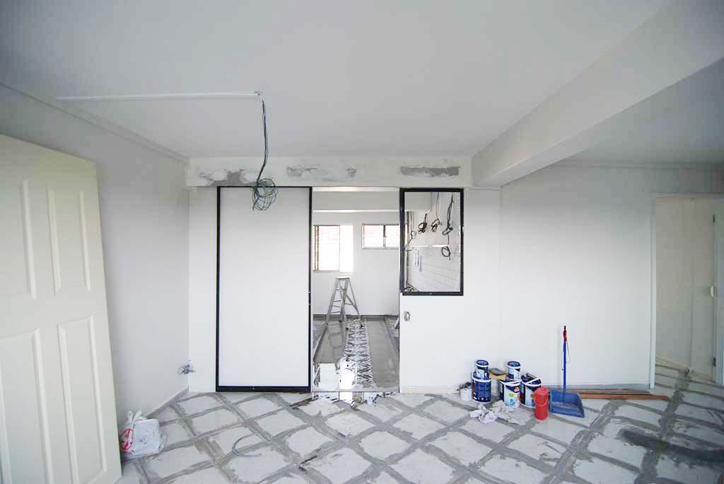 Butterpaperstudio reno queensway preparing the floor for Preparing floor for vinyl