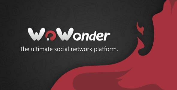 WoWonder v2.3.2 - A plataforma de rede social PHP final - nulled