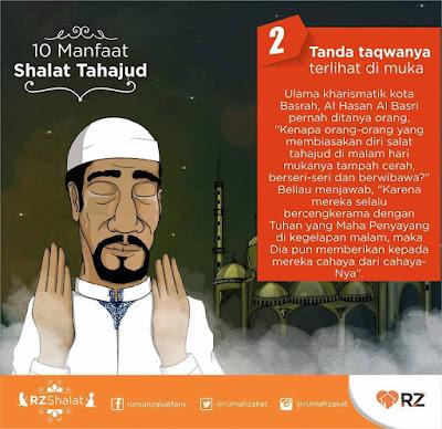 manfaat solat tahajud, solat tahajud, islamic quote
