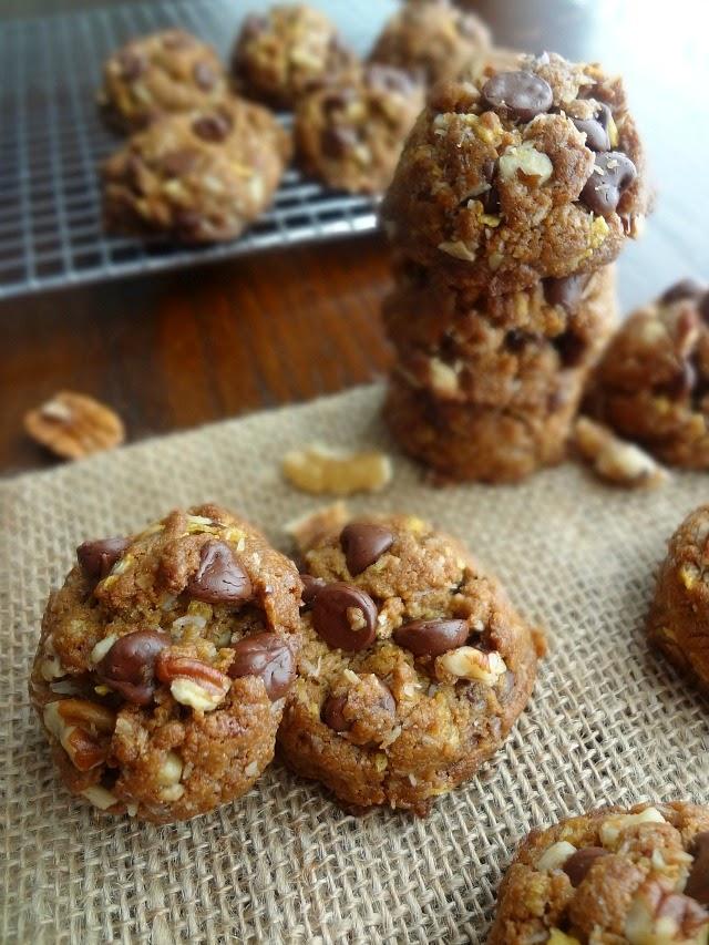 Peanut Butter Compost Cookies {Gluten-free}