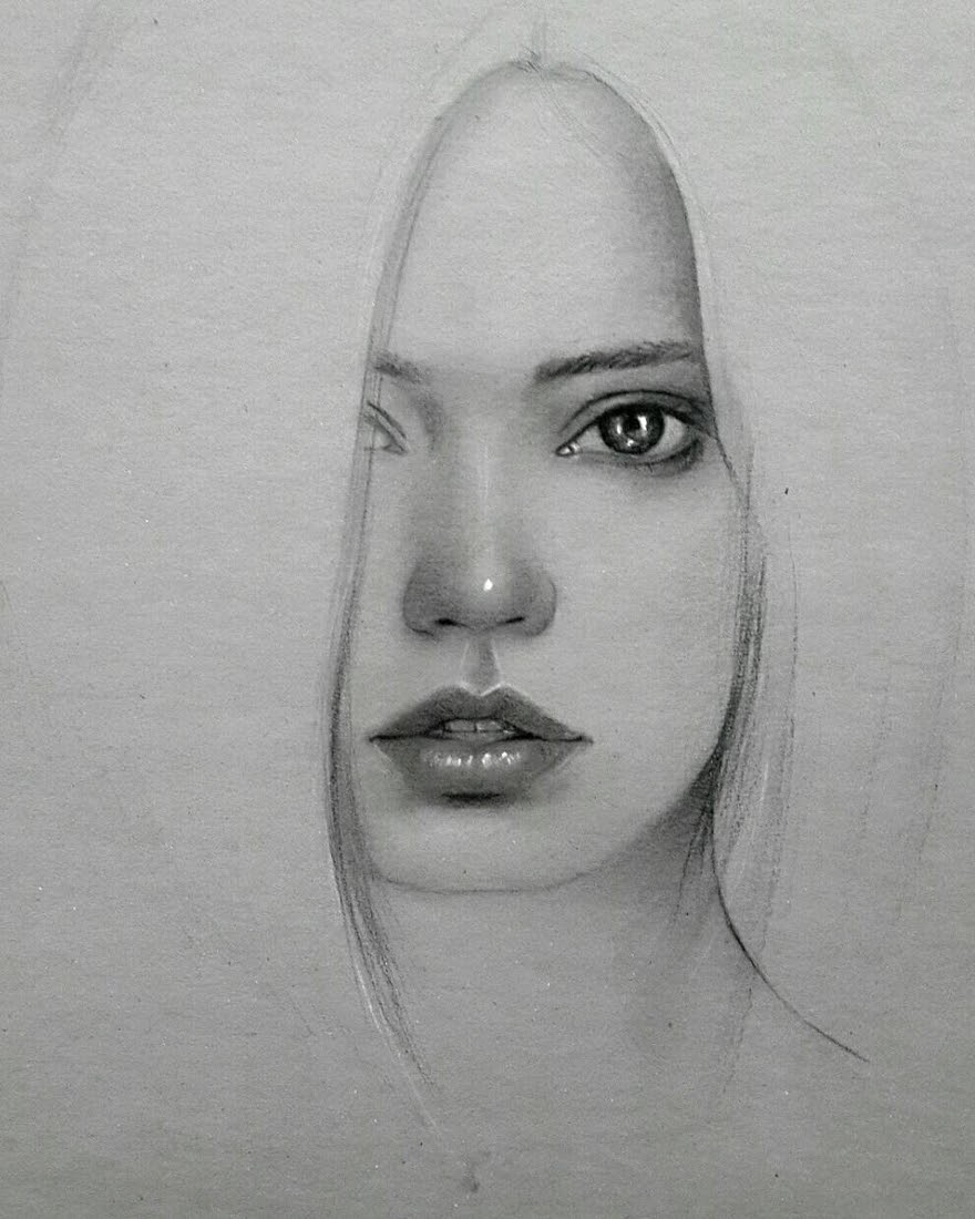 12-Husam-Waleed-Minimalist-Realistic-and-Stylized-Charcoal-Portraits-www-designstack-co