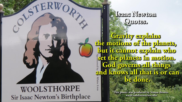 Isaac Newton Quotes. Gravity explains the motions of the planets, but it cannot explain who set the planets in motion. God governs all things and knows all that is or can be done.