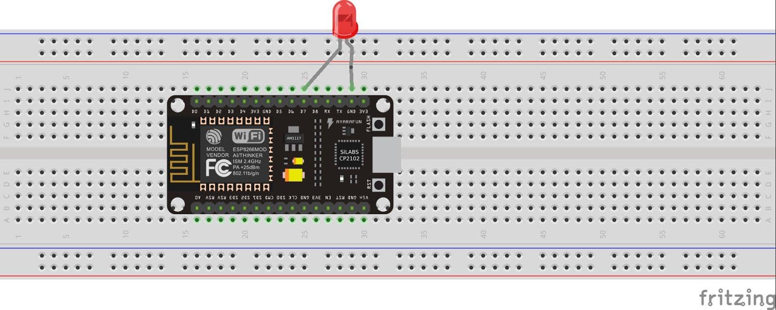 Quick Start to Nodemcu (ESP8266) on Arduino IDE: 3 Steps
