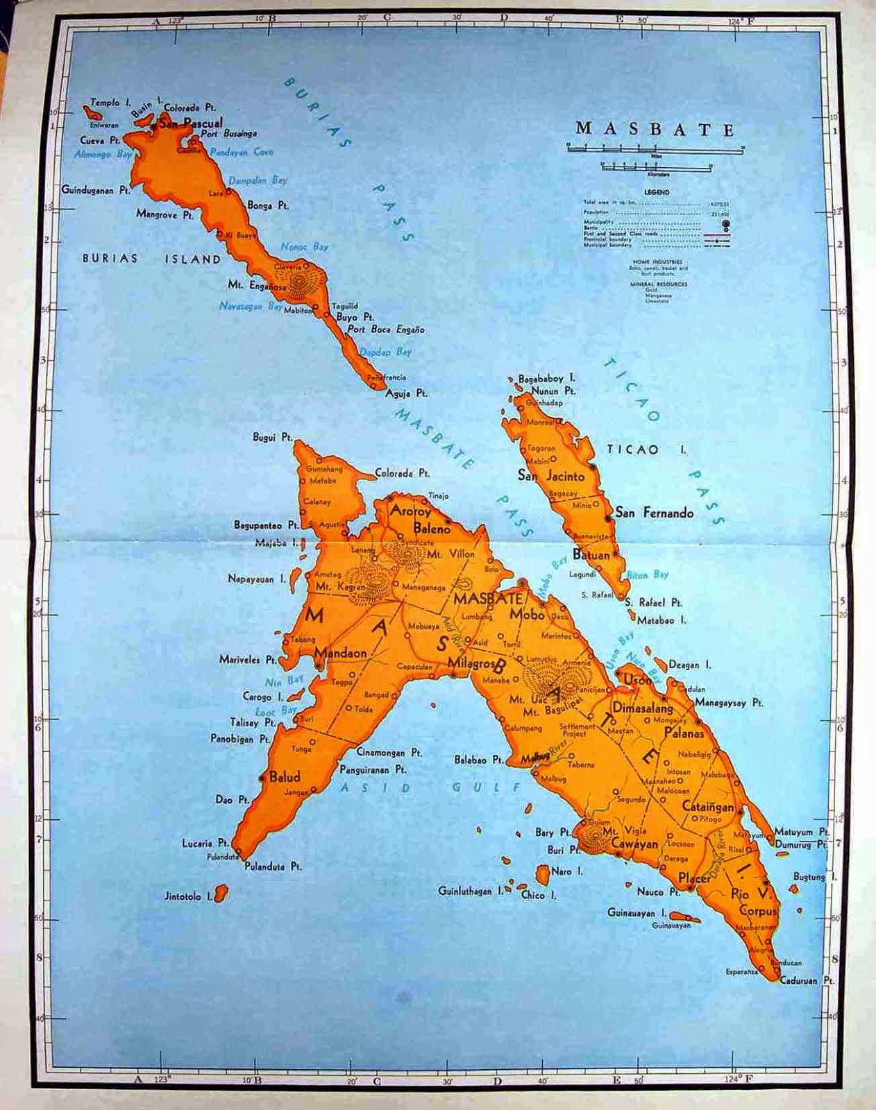 Masbate Philippines Map.Lagalag Visit Masbate The Cattle Country Of The Philippines