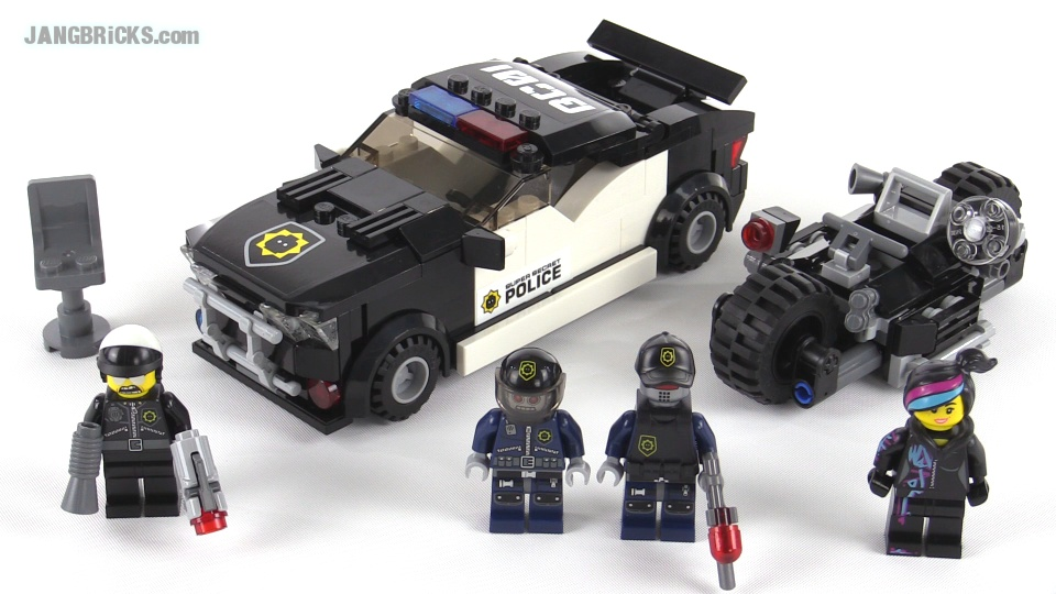 LEGO Movie Bad Cop Car Chase review! set 70819