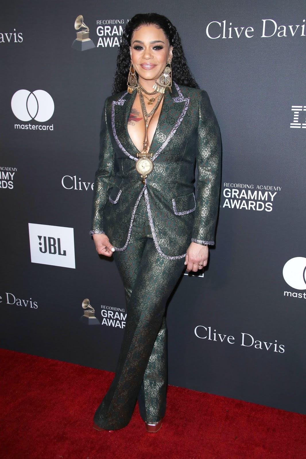 Faith Evans - Clive Davis' 2019 Pre-Grammy Party In Los Angeles - 02/09/2019
