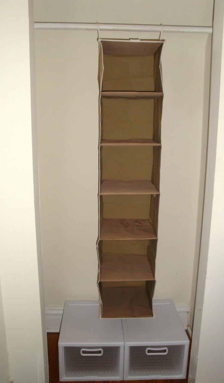 Initial Plan For Organizing Closet
