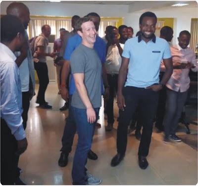 Zuckerberg in Lagos
