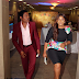 Omotola and hubby step out in style(Photos)
