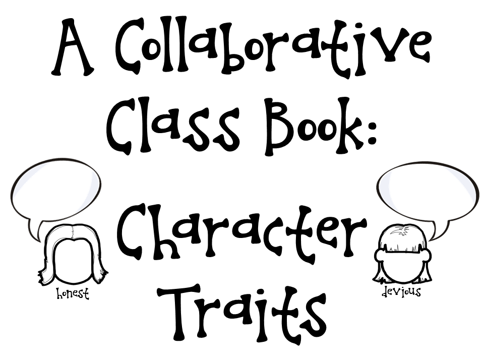 Crafting Connections: Character Traits Anchor Chart