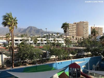 View from balcony at Bitacora Hotel, Tenerife