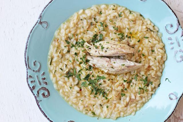 Συνταγή για Ριζότο με Ψάρι