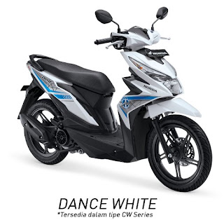 Honda BeAT eSP CW (Dance White)