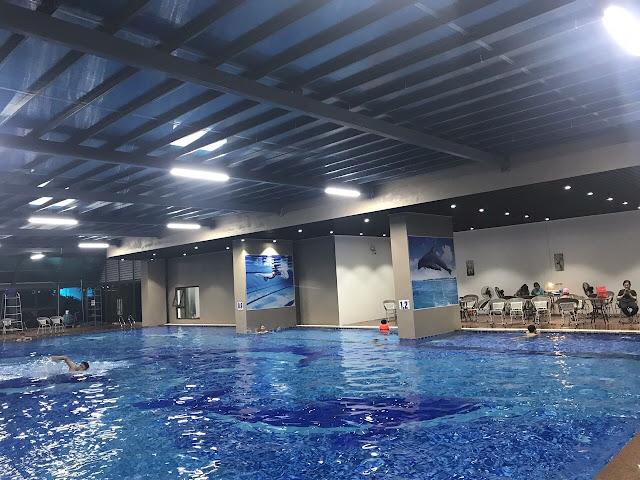Bể bơi 4 mùa dự án Gelexia Riverside