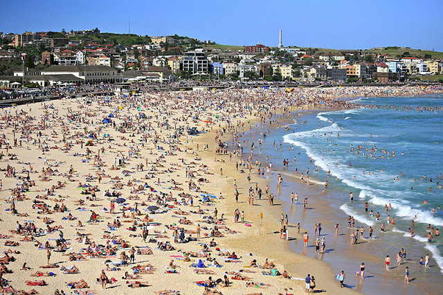 Excursió a Bondi Beach + Paddy´s Market, The Domain i Hyde Park