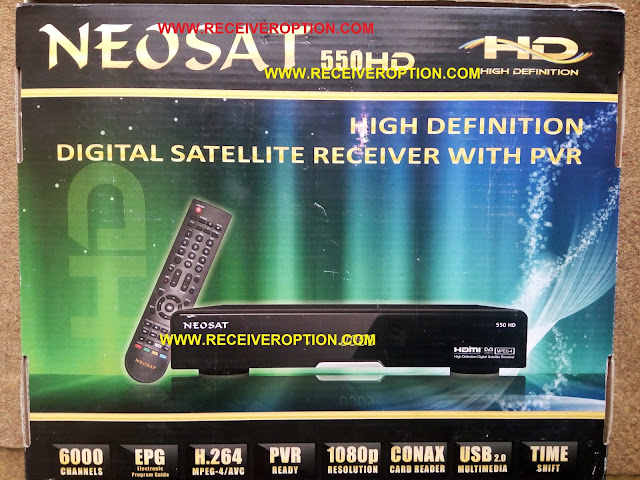 HOW TO CONNECT WIFI IN NEOSAT 550HD RECEIVER